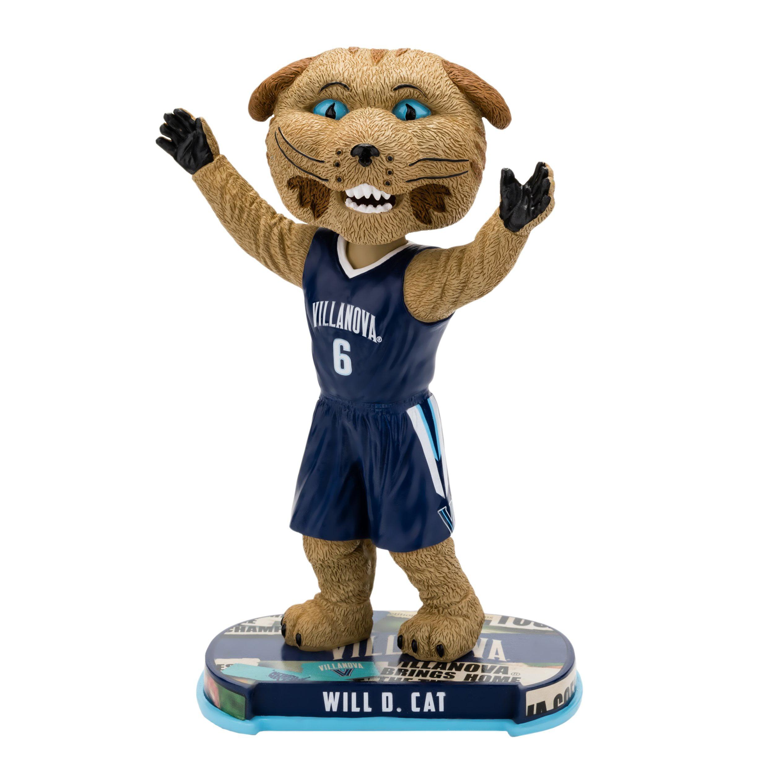 Villanova Wildcats Mascot Villanova Wildcats Headline Bobblehead NCAA
