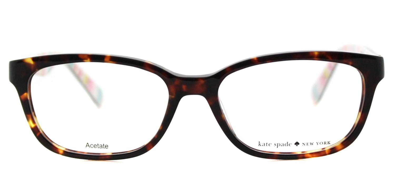 KATE SPADE Eyeglasses BRYLIE 0RNL Havana Multi 52MM - Walmart.com