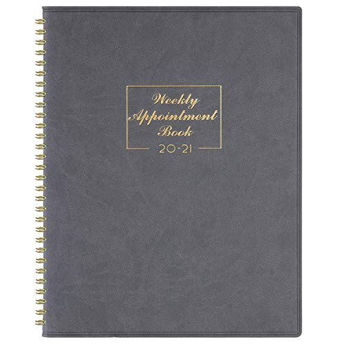 """2021 Weekly Appointment Book /& Planner 2021 Daily Hourly Planner 8.4/"""" x"""
