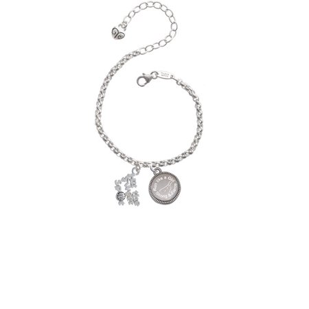 Hit the Sweet Spot with Softball Run Like a Girl - Strong and Fierce Engraved Bracelet