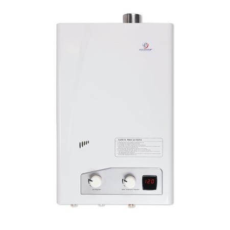 Eccotemp FVI12-LP Indoor Forced Vent Liquid Propane Tankless Water (Best Power Vent Water Heater Reviews)