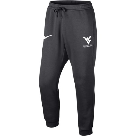 West Virginia Mountaineers Nike Club Fleece Joggers - Anthracite