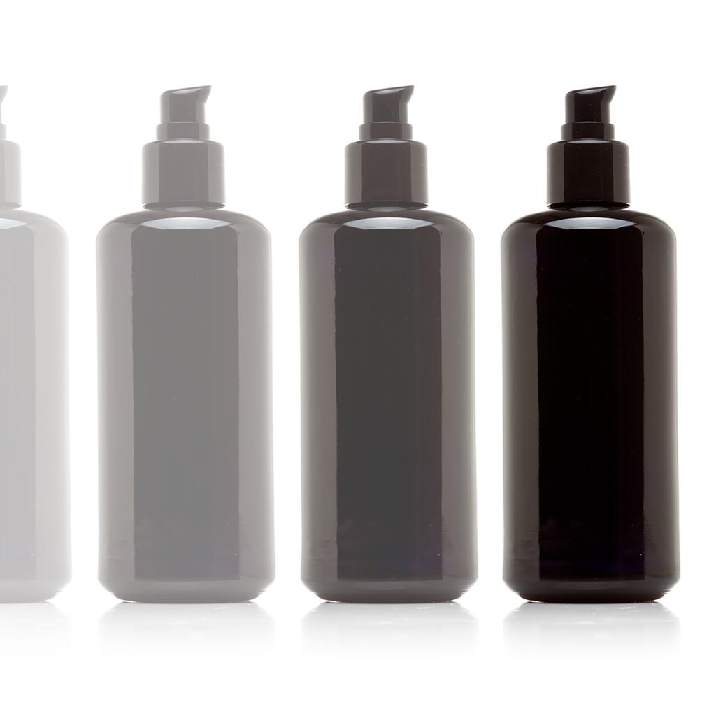 Infinity Jars 200 Ml (6.8 fl oz) Black Ultraviolet Glass ...