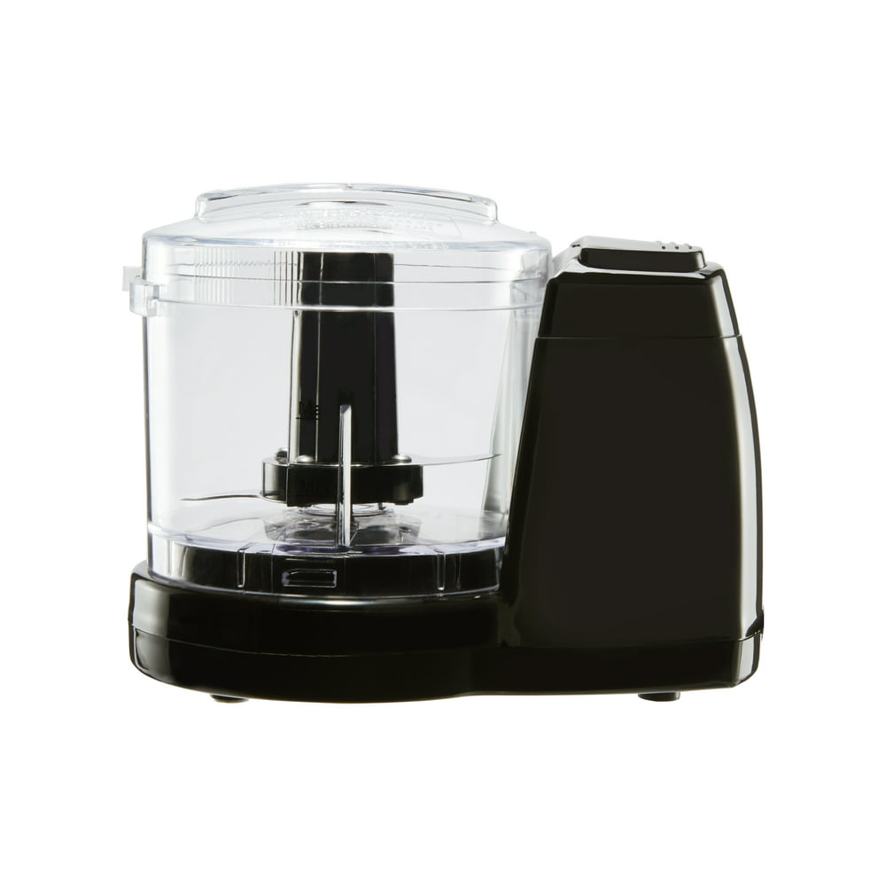 Mainstays 1.5 Cup One-Touch Pulse Stainless Steel Blade Mini Food Chopper