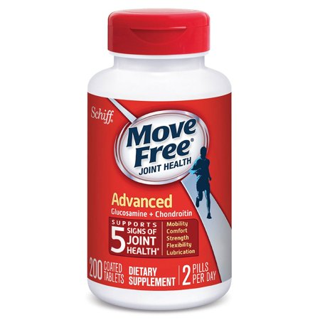Schiff Move Free Joint Health Advanced Coated Tablets, 200 Ct