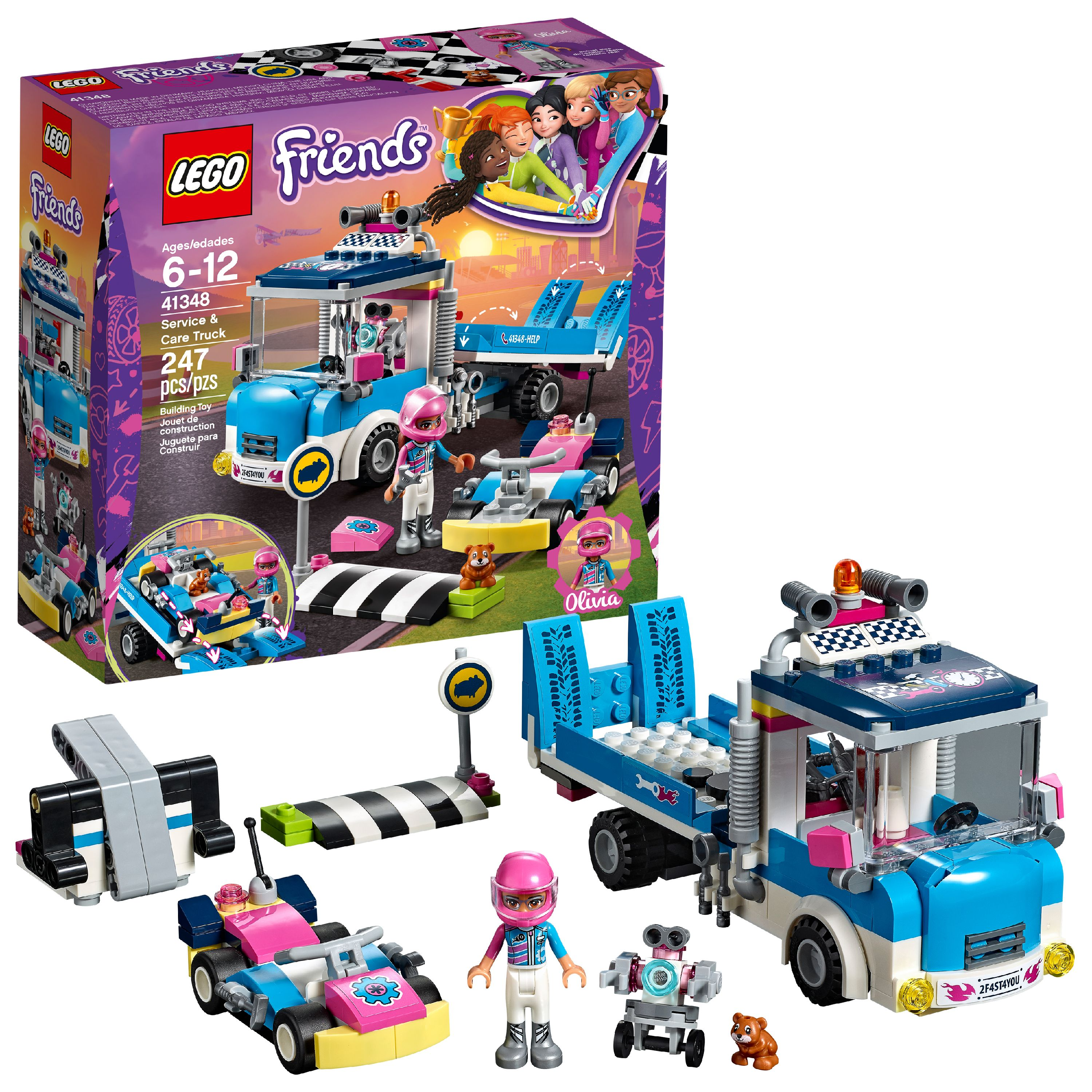 LEGO Friends Service & Care Truck 41348 (247 Pieces)
