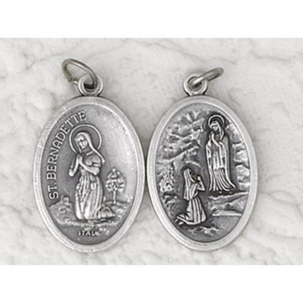 25 St. Bernadette/Grotto of Lourdes Medals