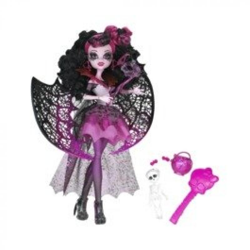 Monster Cable Ghouls Rule - Draculaura 12 inch doll exclu...