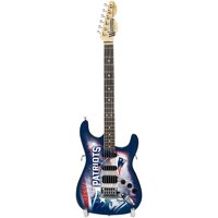 Woodrow NFL Mini Collectible Guitar, New England Patriots