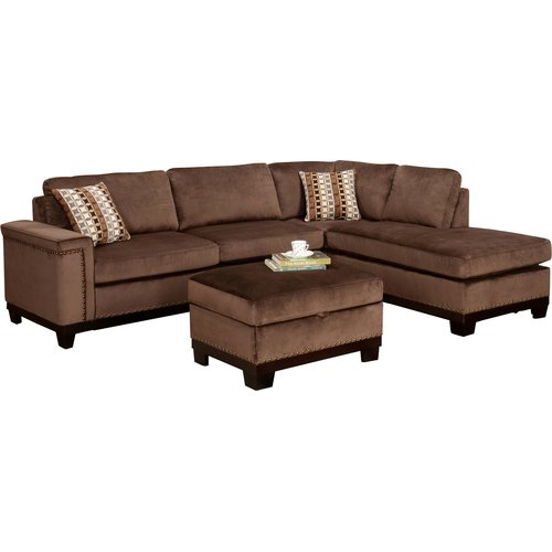 Wildon Home  Opulence Reversible Sectional
