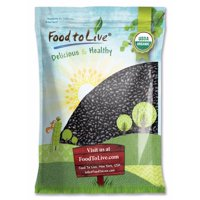 Organic Black Turtle Beans, 10 Pounds - Dried, Non-GMO, Kosher, Raw, Sproutable, Vegan, Bulk – by Food to Live