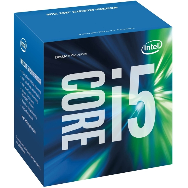 Intel Core i5 i5-6600 Quad-core (4 Core) 3.30 GHz Processor - Socket H4 LGA-1151Retail Pack - 1 MB - 6 MB Cache - 8 GT/s DMI - 64-bit Processing - 3.90 GHz Overclocking Speed - 14 nm - 3 Number of Mon