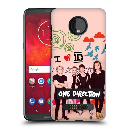 OFFICIAL ONE DIRECTION FILTERED SOLO POSTERS HARD BACK CASE FOR MOTOROLA PHONES 1