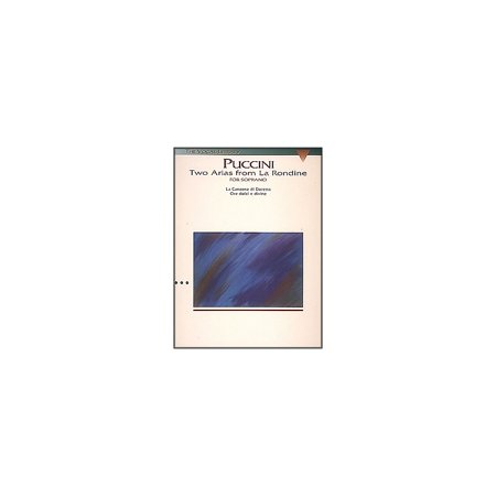 - Hal Leonard Puccini:  Two Arias from La Rondine for Soprano Voice (The Vocal Library Series)