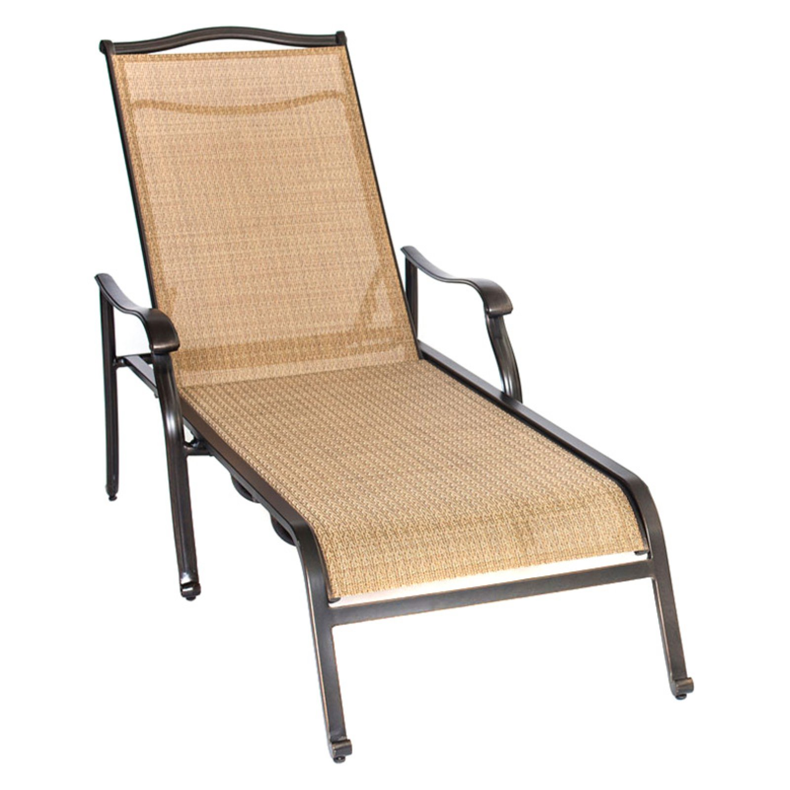Hanover Outdoor Monaco Chaise Lounge Chair