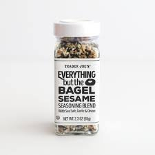 Everything Bagel Seasoning Blend: 16-ounce Bagel Allspice. Sesame Seasoning Spice Shaker. Multi Seasoning Shaker Jar for Bread, Meats and other