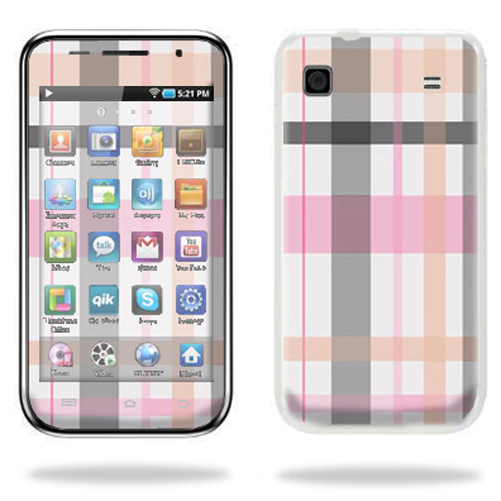 Mightyskins Protective Vinyl Skin Decal Cover for Samsung Galaxy Player 4.0 MP3 Player wrap sticker skins Plaid