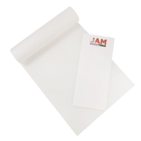 JAM Paper Overlay Tissue Paper Pad, 9 x 12, 17lb Onion Skin Paper, 40 Sheets/Pad