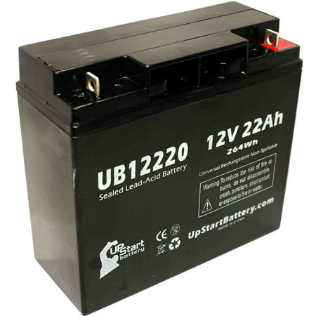 SEARS CRAFTSMAN DIEHARD PORTABLE POWER 1150 Battery Replacement - UB12220 Universal Sealed Lead Acid Battery (12V, 22Ah, 22000mAh, T4 Terminal, AGM, SLA)