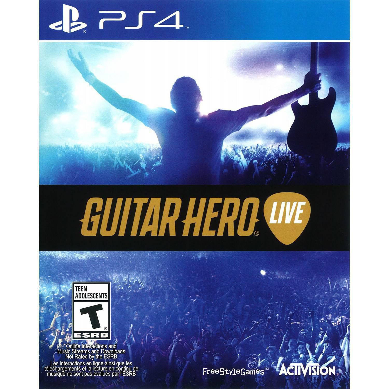 Guitar Hero Live: 2 Guitar Bundle (PS4)