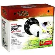 """R-Zilla Premium Reflector Dome Light & Heat, 5.5"""""""