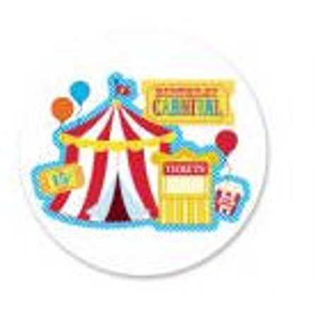 Carnival Party Extra Large Edible Photo Image Cake Decoration](Carnival Theme Cake)