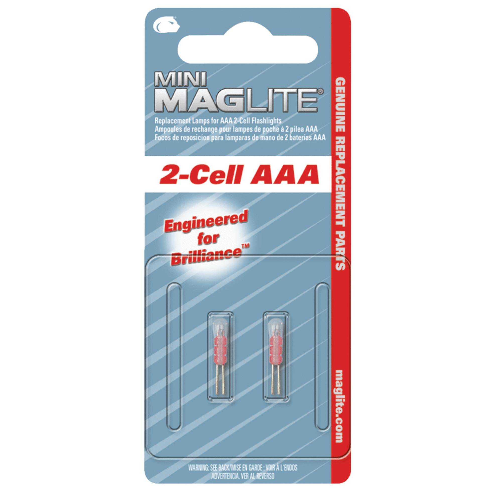 Maglite Replacement Flashlight Bulb For Mini Mag-Lite And Solitaire Light