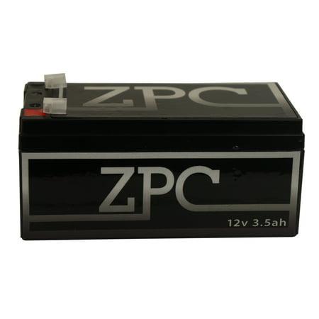 BATTERY FOR WP3-12 Backup 12 Volt 3.5AH 12v 3.5 Amp-hr
