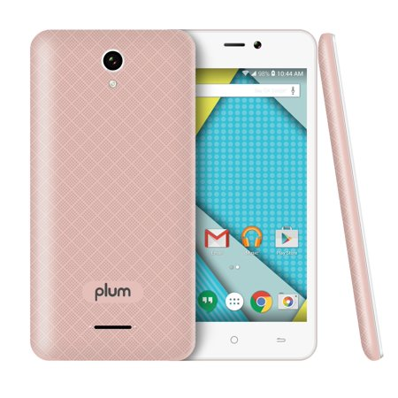 Plum   Unlocked Smart Cell Phone 4G Gsm Android 8Gb Memory Dual Camera Quad Core   Z515 Rose Gold