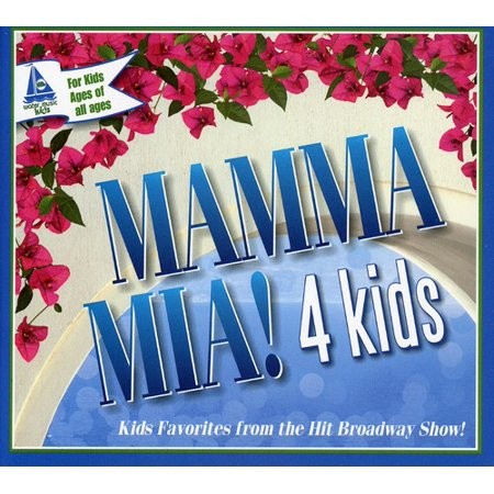 Mamma Mia! 4 Kids [Digipak] [100% Recycled Paper] (CD) (Recycled Cd Packaging)