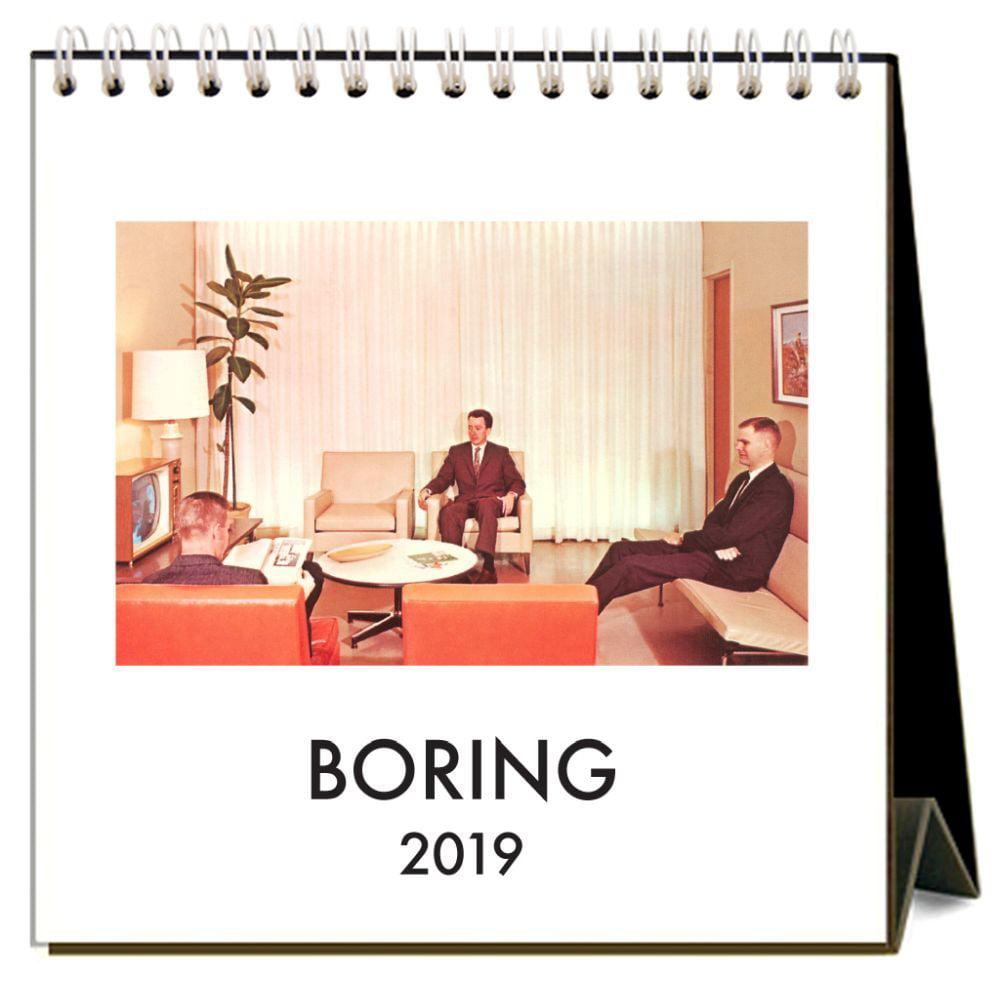 2019 Boring 2019 Easel Desk Calendar, Architecture | Design by Found IMage Press by Found Image Press