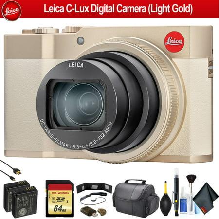 Leica C-Lux Digital Camera (Light Gold) - Advanced Bundle