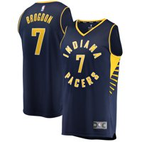 Malcolm Brogdon Indiana Pacers Fanatics Branded Fast Break Replica Jersey Navy - Icon Edition