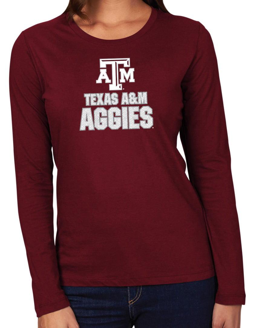 "Texas A&M Aggies NCAA Majestic ""Momentous"" Women's Long Sleeve T-Shirt by Majestic"