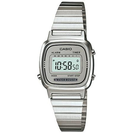 Women's Illuminator LA670WA-7 Silver Stainless-Steel Quartz Fashion Watch