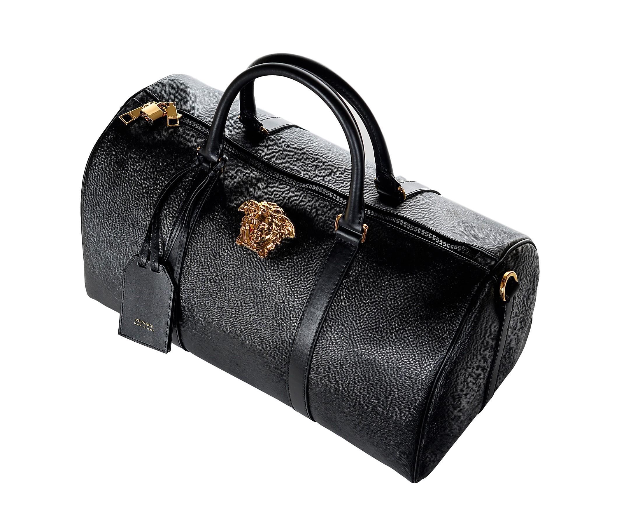 c945182d4 Versace Men's Palazzo Medusa Duffle Bag DV25968 DPVCG DNNOH Black -  Walmart.com