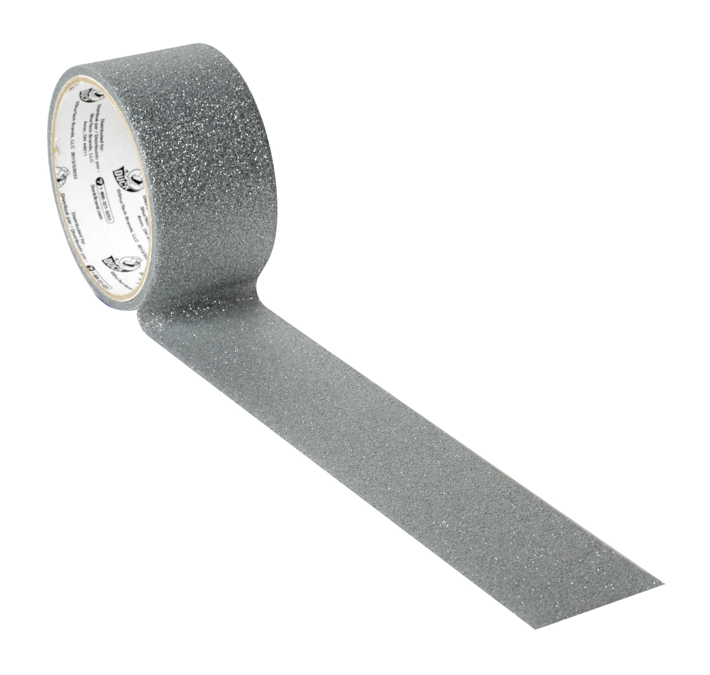 Duck Glitter Crafting Tape Self-Adhesive  Glitter White 099