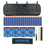 LYUMO Electric Scoring Target 4-Digit Automatic Shooting Outdoor Sports Toy Gift