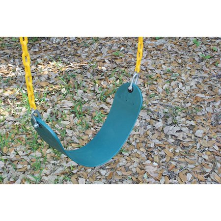Ktaxon Swing Seat Heavy Duty Chain Plastic Coated - Playground Swing Set Accessories Replacement
