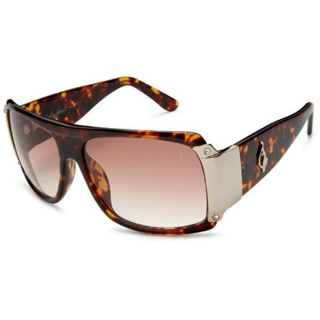 baby phat Women\'s 2048 Rectangular Sunglasses,Tortoise Frame/Brown ...