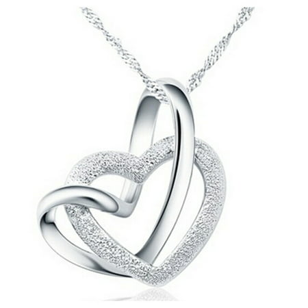 Designer Inspired Intertwined Heart (Inspired Heart Necklace)
