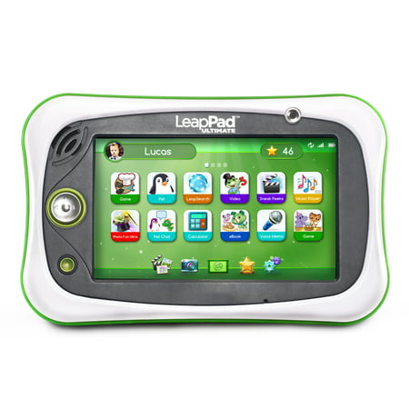 - LeapFrog LeapPad Ultimate Kid-Safe Learning Tablet