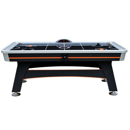(Hathaway Trailblazer 7-ft Arcade Level Air Hockey Table with Electronic Scoring Unit and Sound Effects)