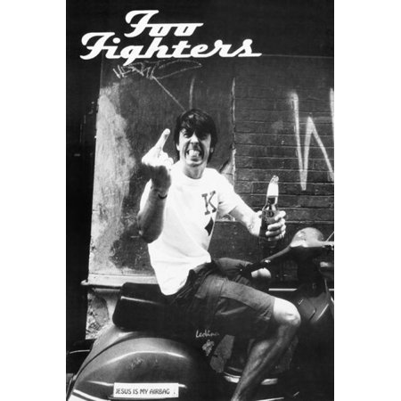 Foo Fighters Finger Poster Poster Print](Foo Fighters Halloween Poster)
