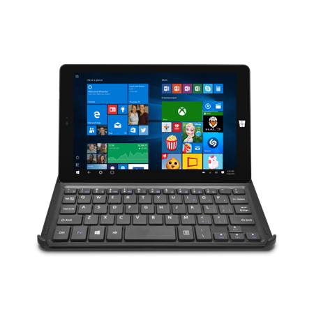 Ematic 8   Hd Windows 10 Tablet 32Gb With Wifi Intel Atom Z3735g Processor Docking Keyboard  Ewt826bk