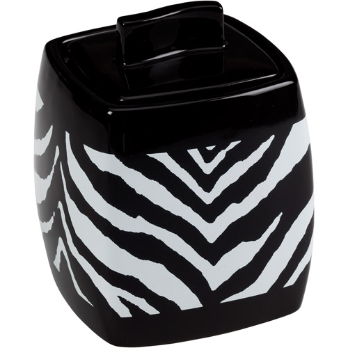 Creative Bath Zebra Jar