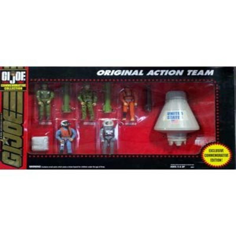 GI Joe Commorative Collection Original Action Team by