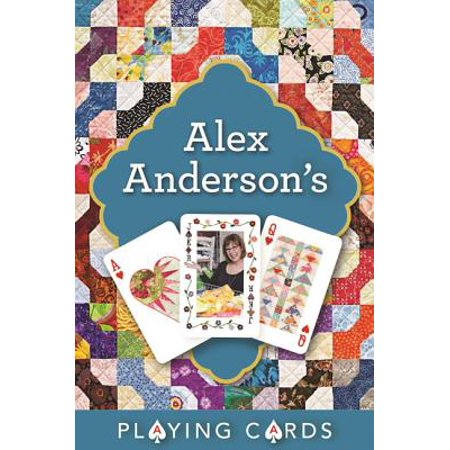 Pack Single Card - Alex Anderson's Playing Cards Single Pack