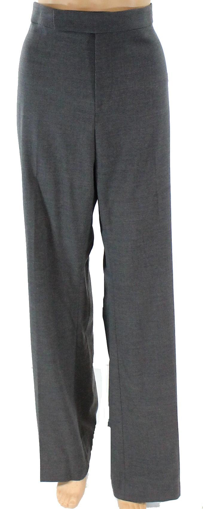 Ralph By Ralph Lauren New Gray Womens Size 14 Wool Stretch Dress Pants by Ralph by Ralph Lauren