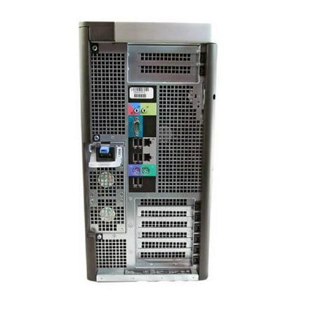 Refurbished Dell Precision T7600 Workstation E5-2620 Six Core 2Ghz 16GB 1TB Q4000 Win 10 Pre-Install - image 1 de 2